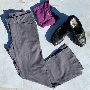 Daisy Fuentes Gray Dress Career Slacks Women 8